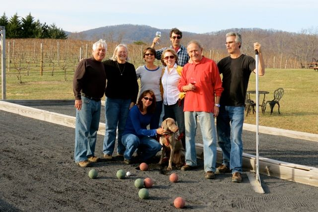 Bocce at Gadino Cellars